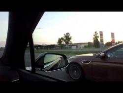Tesla Model X P90D vs BMW M5 F10. Фура 170 км в час обгоняет!!!