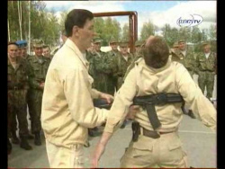 Шокирующие кадры безконтактного боя спецназа.