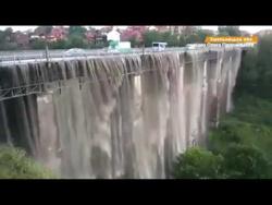 Мост стал Водопадом Украина:  Каменец- Подольский