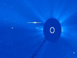 Гигантские НЛО вокруг Солнца и в Солнечной системе, обновление 26.11.2010, часть 3