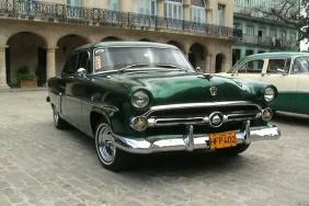 Старинние машины на Кубе!!!