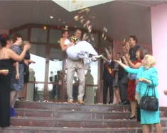 Свадебный клип. Павел и Алена 2010г.