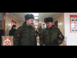 Олег Газманов и Ярослав Сумишевский. Россия (флешмоб  в Армии)!