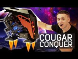 COUGAR Conquer – крутейший корпус ПК открытого типа?!