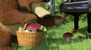Маша и Медведь. 19 серия. Репетиция оркестра