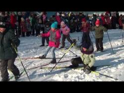Пучежане на лыжне