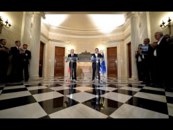 Совместная пресс-конференция с Алексисом Ципрасом
