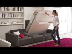 Удивительная складная мебель трансформер