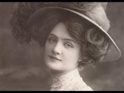 Самая фотографируемая  девушка начала XX века