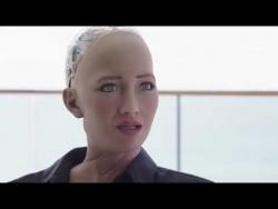 Уилл Смит на свидании с роботом София   loverme.ru