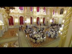 Выступление на церемонии вручения орденов «Родительская слава»