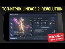 ТОП-игрок Lineage 2: Revolution