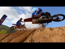 Half-Mile MX Rhythm Section - Red Bull Straight Rhythm