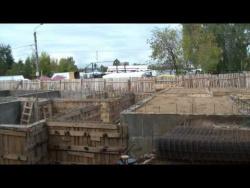 Строительство в Пучеже. Август 2014 г.