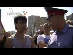 Блондинка с битой или Русская Зачистка - Питер, 27.07.2013