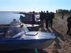 Рыбалка на средней Волге (Горьковское водохранилище) Юрьевец, соревнование по ловле спиннингом