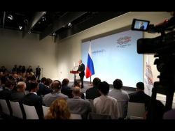 Пресс-конференция по итогам саммита «Группы двадцати»