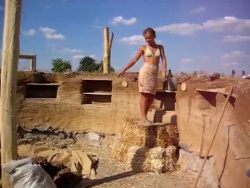Дом из самана строим своими руками