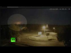 Под Луганском сбит украинский военно-транспортный самолет Ил-76