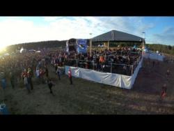 """Международный фестиваль """"Воздух-2014"""" с высоты птичьего полета."""