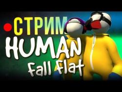 Human: Fall Flat - стрим