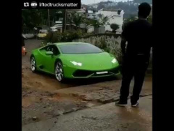 LAMBORGHINI HURACAN OFF-ROAD FAIL!