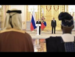 Вручение верительных грамот Президенту России