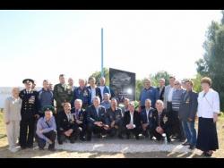 Открытие памятника воинам интернационалистам в г  Пучеже .
