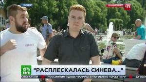 ВДВшник ударил журналиста