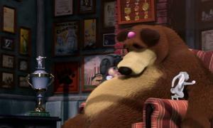 Маша и медведь 14 серия
