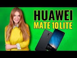 Безрамочный HUAWEI MATE 10 LITE: 4 камеры