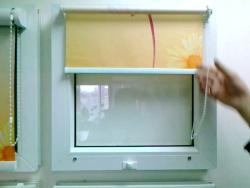 Жалюзи на окна ПВХ  (система MINI-RM)