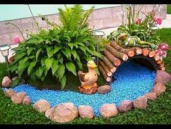 50 творческих идей для украшения садов 2016 года - удивительные идеи сада