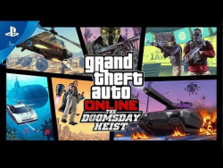 GTA Online - The Doomsday Heist Trailer | PS4