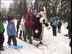 Олонецкие игры Дедов Морозов - 2013