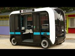 OLLI-напечатанный на 3D принтере самодвижущийся говорящий миниавтобус!