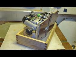 Универсальная шипорезка для ящичных шипов и деревянных решеток