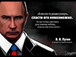 Прямая линия с В В  Путиным  Ключевые цитаты