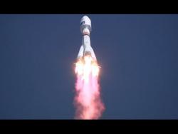 С космодрома Восточный произведен запуск ракеты-носителя «Союз-2.1а»
