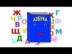Обучение чтению. Говорящие буквы. Развивающие мультфильмы для детей. Учимся читать