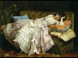 Французский художник Огюст Тульмуш (1829 1890 )