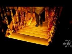 Как сделать лестницу своими руками.Подсветка лестницы.