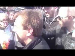 Столкновения на Аллее Славы 10 апреля