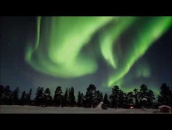 Amazing Night with Northern Lights