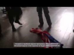 Казаки отомстили музыкантам Bloodhound Gang за осквернение российского флага.