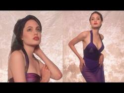 Фотосессия 16 летней Анджелины Джоли, 1991 г