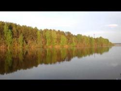 Майский вечер на реке Ячменка