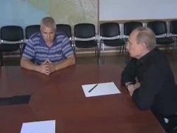 Совещание в связи с наводнением на Кубани