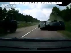 Реакция водителя спасла всю его семью.