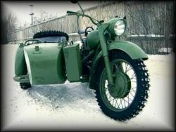 Тест-драйв мотоцикл МВ 750 ( полноприводный)